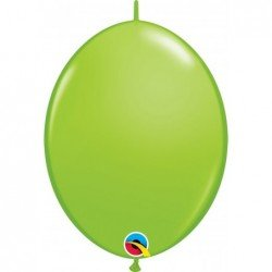 12 pulg. (30,4cm) Qlink Lime Green 50Ct Qualatex Quick Link Balloons (BP)QL-65217 Qualatex