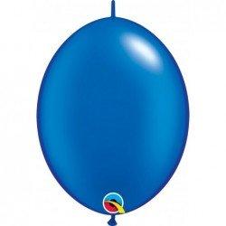 Globos Color Azul perlado Sapphire Qlink de 30cm (50ud)QL-65292 Qualatex