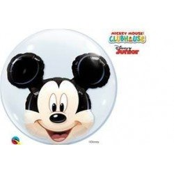 24 pulg. (60,9cm) Bubble Doble 01 Und. Mickey Mouse (BP)QL-27569 Qualatex