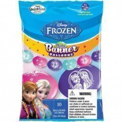 Party Banner Blns 10Ct Dn Frozen (BP)