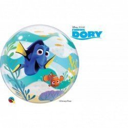22 pulg. (55,8cm) Bubble Sencilla 01 Und. Dnpx Finding Dory (BP)QL-44146 Qualatex