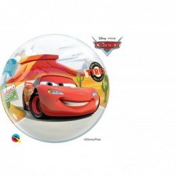 22 pulg. (55,8cm) Bubble Sencilla 01 Und. Dnpx Rayo McQueen y Mate (BP)QL-10185 Qualatex