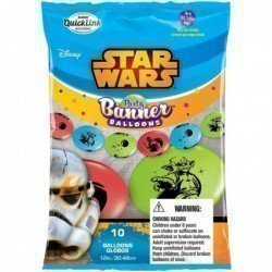 Party Banner Blns 10Ct Star Wars (BP)