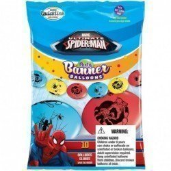 Party Banner Blns 10Ct Marvel'S Ultimate Spider-Man (BP)