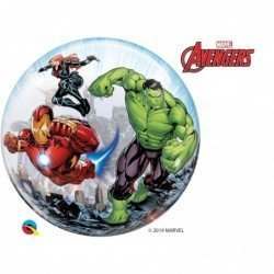 22 pulg. (55,8cm) Single Bubble 01Ct Marvel'S Avengers Classic (BP)QL-87459 Qualatex
