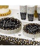 Comprar Fiesta de Oro/plata Sparkling Cumpleaños al mejor precio