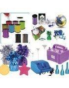 Distribución de accesorios de globos, infladores, cintas y todo lo relacionado con el globo