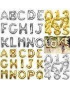 Comprar Globos con Formas números y letras al mejor precio