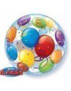 distribución y venta al por mayor de globos bubbles, orbz y esferas