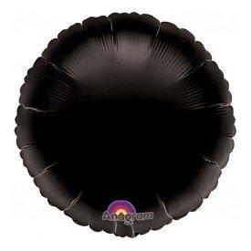Globo Con Forma de Circulo de Aprox 45cm Color NEGRO-