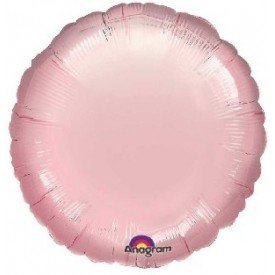 Globo Con Forma de Circulo de Aprox 45cm Color ROSA PASTEL -