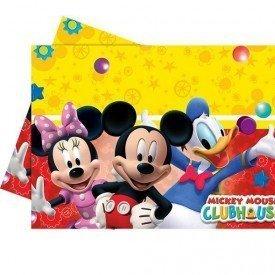 Mantel Plástico 120x180cm Club disney Mickey