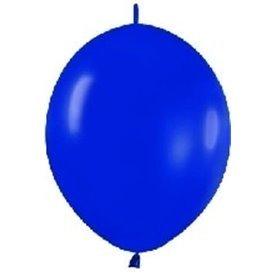 Globos (LOLR5) de 15 cm aprx Esp. Arcos y Torres Color Azul Real Solido (50 ud)