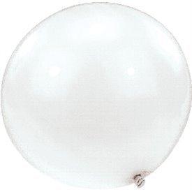 Globos latex de Gran calidad de 1,2 metros Color Blanco
