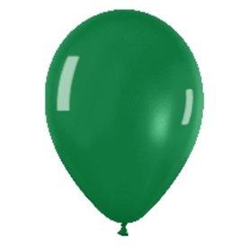Globos (R-5) de 13 cm aprox Color Verde Efecto Metalico-Cristal (100 ud)