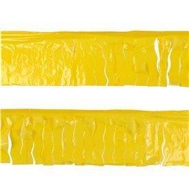 Guirnalda Flecos Plástico Amarillo (25 Mts)