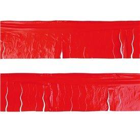 Guirnalda Flecos Plástico Rojo (25 Mts)