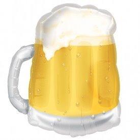 Globo Foil Forma Jarra de Cerveza (Empaquetado)