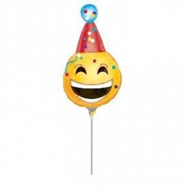 Globo Emoji fiesta palito