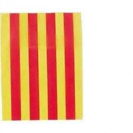 Banderín de plásticode labandera de Cataluña