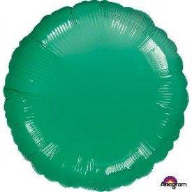 Globo Con Forma de Circulo de Aprox 45cm Color VERDE METAL -