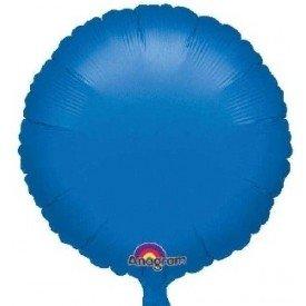 Globo Con Forma de Circulo de Aprox 45cm Color AZUL METAL -