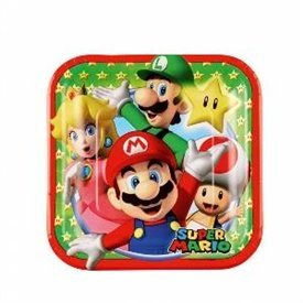 Platos Super Mario Bros de 18 cm (8)