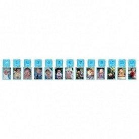 Guirnalda porta Fotos 12 meses 1º Cumple Niño