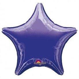 Globo Estrella color Morado de Aprox 80cm