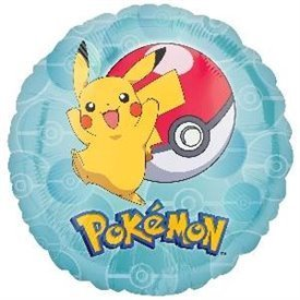Globo Pokemon Redondo (Empaquetado)