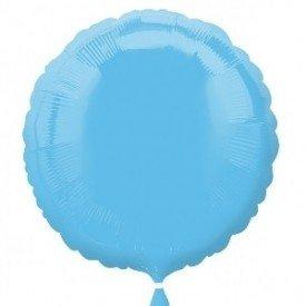 Globo Con Forma de Circulo de Aprox 45cm Color BLUE-