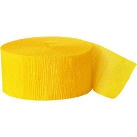 Cinta Crepe Color Amarillo