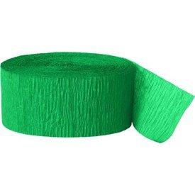 Cinta Crepe Color Verde Esmeralda