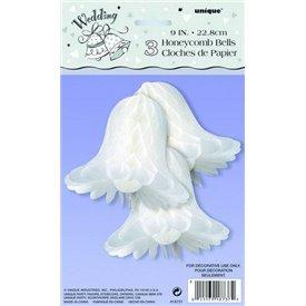 Campanillas Blancas de 23 cm (3)