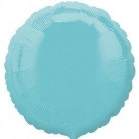 Globo Con Forma de Circulo de Aprox 45cm Color ROBIN EGG BLUE-