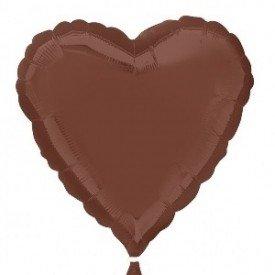 Globo Con Forma de Corazón de Aprox 45cm Color CHOCOLATE