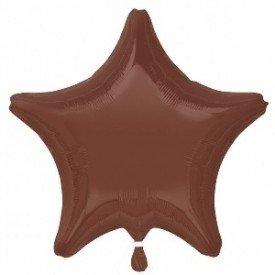 Globo Con Forma de Estrella de Aprox 47cm Color CHOCOLATE