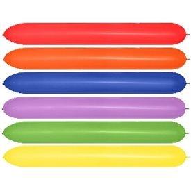Globos Moldeables (660) de 15 cm x 150 cm Color Surtidos Especial Columnas, Arcos...(20 ud)