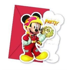 Invitaciones Mickey Coches (6)