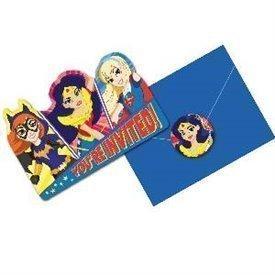 Invitaciones Super Hero Girls (8)