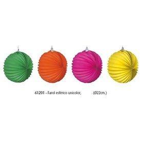 Farolillos de papel Colores Surtidos de 22 cm (12)