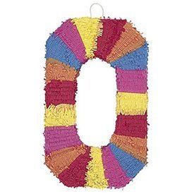 Piñata Número 0 en 3D