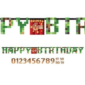 Guirnalda TNT Craft Happy Birthday Personalizable