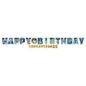 Guirnalda Yo-Kai Watch Happy Birthday Personalizable