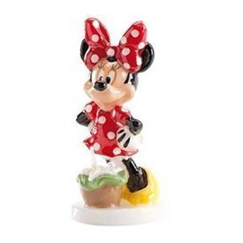Vela Minnie tarta 3D