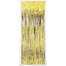 Decoracion Cortina Puerta Color Dorado ( 2,4m x 91 cm)