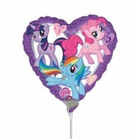 Globo Mini My Little Pony palito