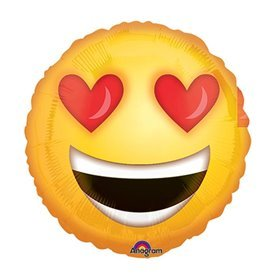 Globo Emoji Enamorado Palito
