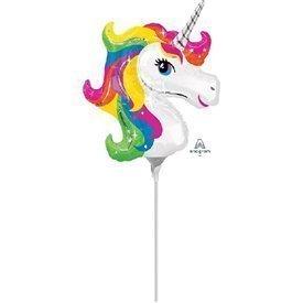 Globo Unicornio palito