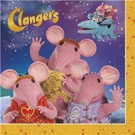 Servilletas Clangers (16)